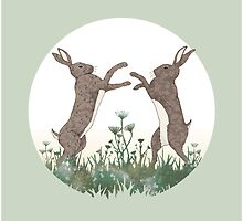 March Hares by hipsterspinster