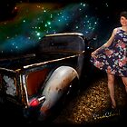 Rat Rod Saturday Night Dance Queen by ChasSinklier