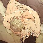 BBC Sherlock: Sleepy Cuddles by sweetlitlekitty