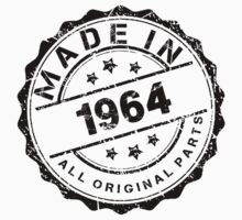 MADE IN 1964 ALL ORIGINAL PARTS by smrdesign