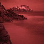 Infra Red Island - Tenby, Pembrokeshire by rennaisance