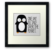 World Domination Framed Print