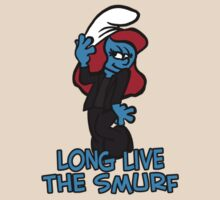 Long live the smurf by van-helsa124