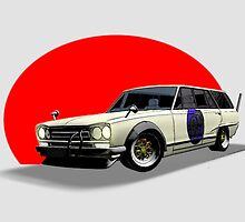 Shakotan Wagon by Blake Dove