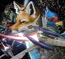 Star Fox by TedGravesArt