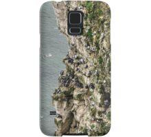 Bempton Cliffs Samsung Galaxy Case/Skin