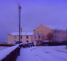 A snowy winter in Instow by Charmiene Maxwell-batten