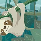 Hang in There, Little Sloth by Veronica Guzzardi