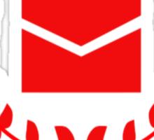 Post Office Halo Sticker