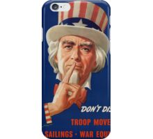 I'm Counting on You! iPhone Case/Skin