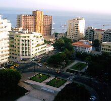 Dakar, Senegal - Print by WonderMeMosaics