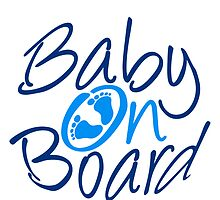 Baby On Board Boy Design by Style-O-Mat