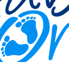 Baby On Board Boy Design Sticker