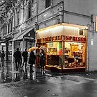 Pellegrinis night rain colour 3 by Esther Frieda