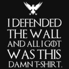 I defended the wall and all I got was this damn t-shirt by MalcolmWest