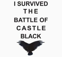I survived the battle of Castle Black by icedtees