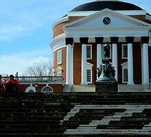 The Rotunda Steps......UVA    ^ by ctheworld