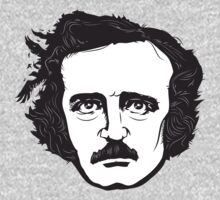 Edgar Allan Poe by mikewirth