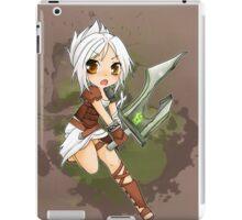 Riven chibi - League of Legends iPad Case/Skin
