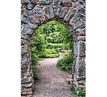 Secret Garden.  Photographic Print