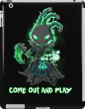 Thresh chibi - come out and play - League of Legends by linkitty