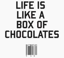 Life is Like a Box of Chocolates by upsidedownRETRO