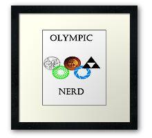 Let The Games Begin Framed Print