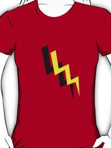 Black and yellow lightning transparent background T-Shirt