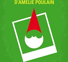 No311 My Amelie minimal movie poster by Chungkong