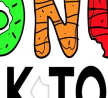 Donut Talk To Me Sticker