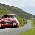 The Three Castles Welsh Trial 2014 - MGC GT by Three-Castles
