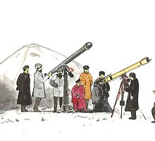 Soviet Scientists in Kazakhstan early 20th Century by Daniel Gallegos