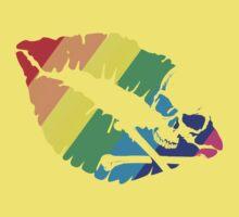 rainbow lips Kids Clothes