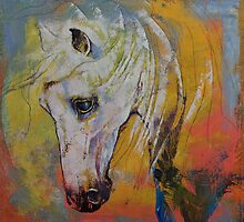 White Horse by Michael Creese