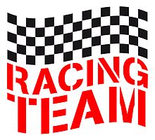 Racing Team Flag Design by Style-O-Mat