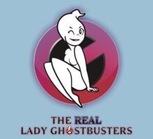 The REAL Lady Ghostbusters - Poster Kids Clothes