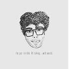Richard Ayoade by aclockworkerin