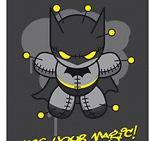 My SUPERCHARGED VOODOO DOLLS BATMAN by Chungkong