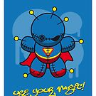 My SUPERCHARGED VOODOO DOLLS SUPERMAN by Chungkong