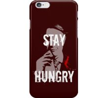 NBC Hannibal - Stay Hungry iPhone Case/Skin