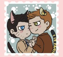 Kitty!Destiel by Tsuki-Nekota