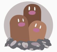 Dugtrio - Basic by Missajrolls