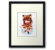 Keiiros Chibi Framed Print