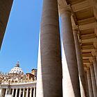 The Colonnade of Saint Peter's Square by Alex Cassels