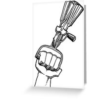 Egg beater Greeting Card
