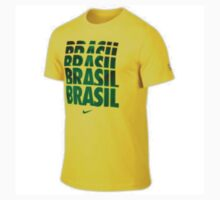 Brazil 2014 FIFA World Cup TShirt On Sale by Zapprix  Fashion