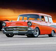 1957 Chevrolet Bel Air Custom Wagon by DaveKoontz