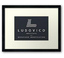 The Ludovico Institute Framed Print