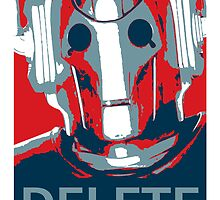 Cyberman Delete by GrimDork