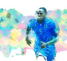 Mario Balotelli by JoeyKnuckles